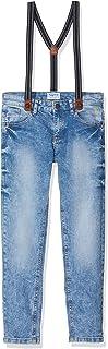 Mayoral 602047 Pantalones, Multicolor (Tejano 5), 6 años (Tamaño del fabricante:6) para Niños