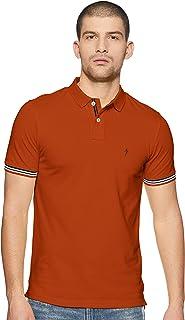 Indian Terrain Men's Plain Regular fit T-Shirt