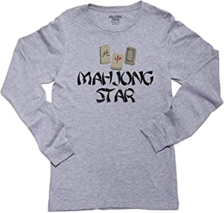 Hollywood Thread Mahjong Star - with Special Chinese Tiles Long Sleeve Youth T-Shirt