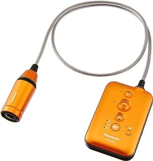 パナソニック ウェアラブルカメラ オレンジ HX-A100-D