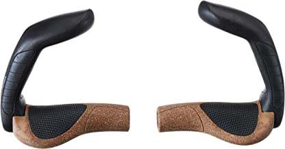 Ergon GP5-L BioKork Grip: Large Black/Tan