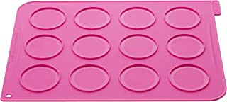 silikomart Wonder Cakes by WOP01 Tapis Whoopies avec 24 Poche à Douilles Jetables Silicone Fuchsia