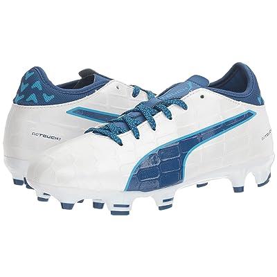 Puma Kids evoTOUCH 3 FG Jr (Little Kid/Big Kid) (Blue/Blue Danube) Boys Shoes