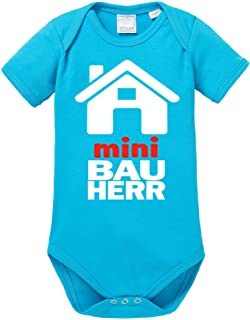 Ezyshirt Mini Bauherr/in Baby Body Shortsleeve