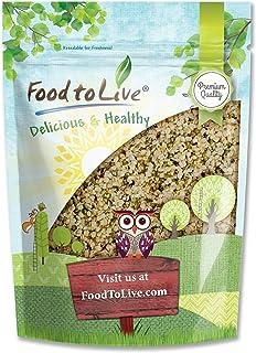 Canadian Hemp Seeds, 2 Pounds - Raw Hearts, Hulled, Shelled, Kosher, Bulk, Vegan Superfood, Keto and Paleo Friendly, Rich ...