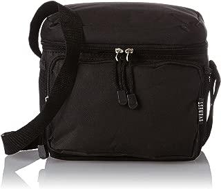 Everest Cooler Lunch Bag, Black, One Size