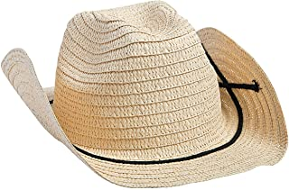 Fun Express Adult Cowboy Hats with Bands (Set of 12) Western Party Supplies