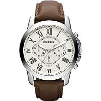 Fossil Grant Cream Dial Men's Chronograph Watch