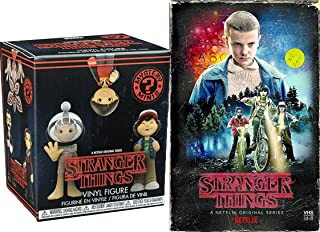 Stranger Things Mystery Mini Figure Exclusive VHS Set Season 1 DVD Blu-Ray 4 Disc Box Edition Special Funko Blind Box 2-pack Bundle
