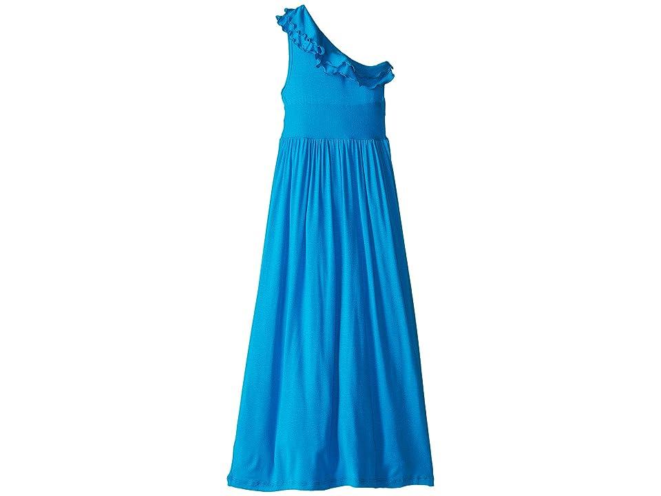 fiveloaves twofish Bedouin Maxi Dress (Little Kids/Big Kids) (Turquoise) Girl
