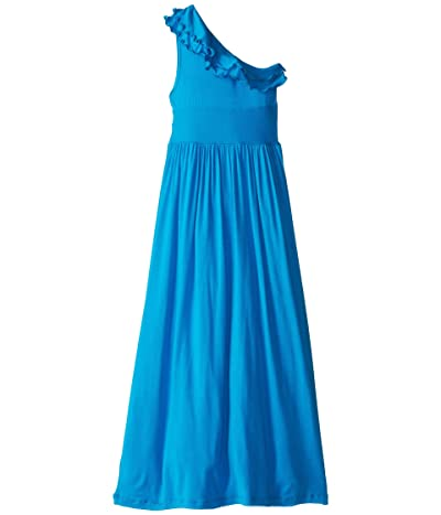 fiveloaves twofish Bedouin Maxi Dress (Little Kids/Big Kids) (Turquoise) Girl