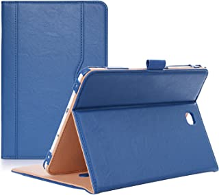 ProCase Galaxy Tab S2 8.0 Case - Leather Stand Folio Case Cover for 2015 Galaxy Tab S2 Tablet (8.0 inch, SM-T710 T715 T713) - Navy