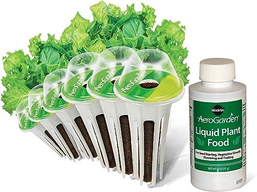 AeroGarden Salad Greens Mix Seed Pod Kit, 6