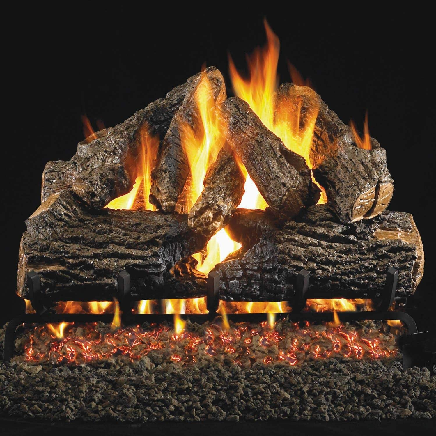 Peterson Real Fyre 30-inch Beauty products Charred Oak With Propa Log Set Vented Superlatite