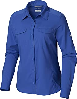 Women's Silver Ridge Lite Long Sleeve Shirt, UV Sun Protection, Moisture Wicking Fabric