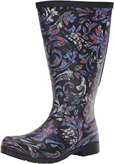 Chooka Women's Waterproof Flex Fit Tall Rain Boot With Elastic