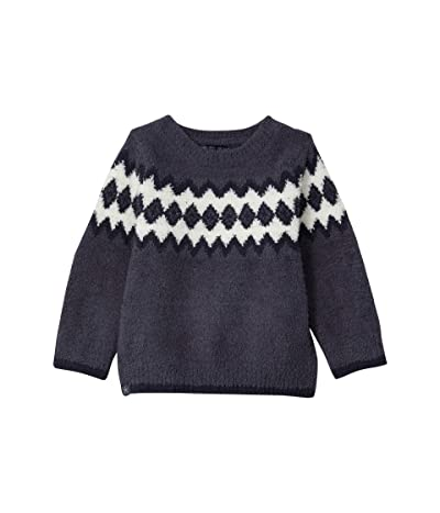 Barefoot Dreams Nordic Sweater (Toddler) (Pacific Blue Multi) Men