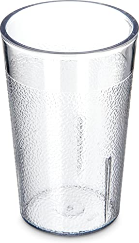 Carlisle 5501-207 Stackable Shatter-Resistant Plastic Tumbler, 5 oz., Clear (Pack of 24)