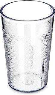 Carlisle 5501-8107 BPA Free Plastic Stackable Tumbler, 5 oz., Clear (Pack of 6)