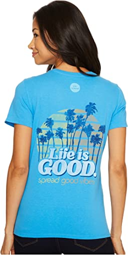 Life is Good - Sunrise Palms Crusher Vee
