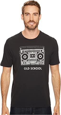 Life is Good - Old School Boombox Smooth Tee
