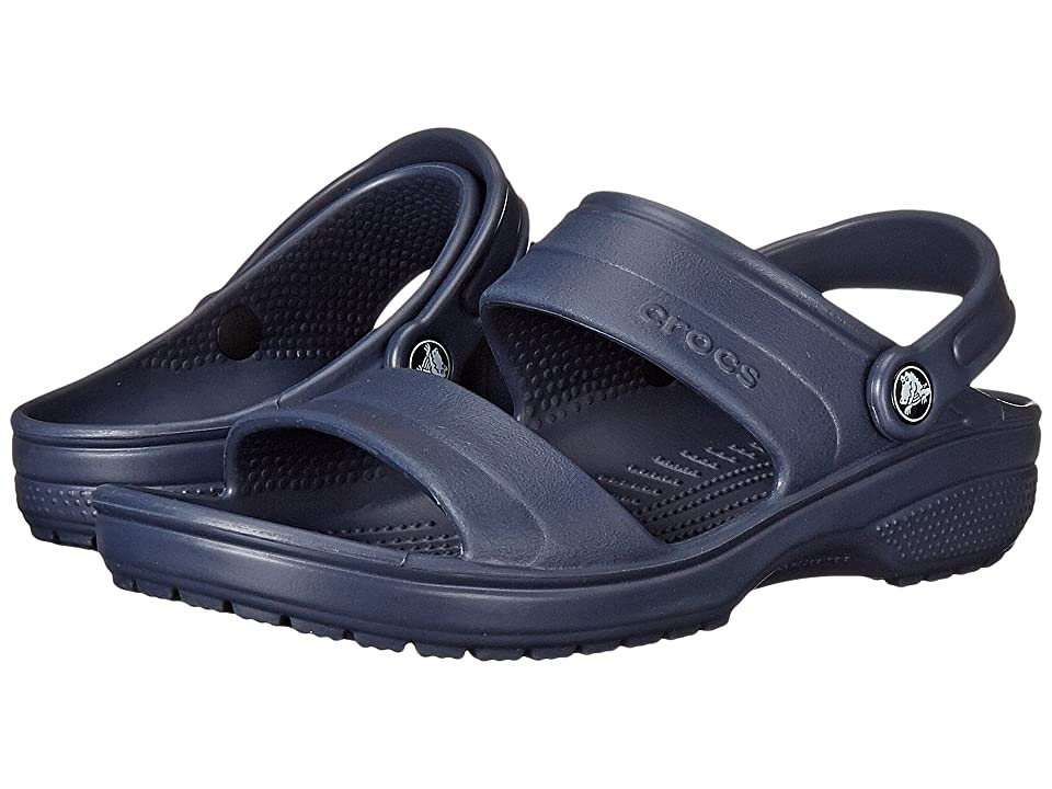 Crocs Classic Sandal (Navy) Sandals