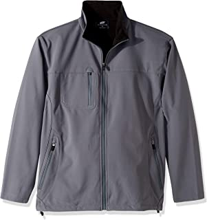 Clementine Men's ULTC-8280-Soft Shell Jacket with Cadet Collar