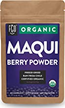 Organic Maqui Powder | 4oz Resealable Kraft Bag | 100% Raw From Chile | by Feel Good Organics