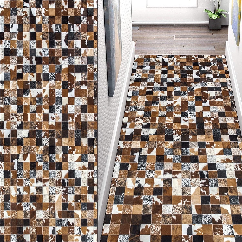 CWENZE Rug Runner Doormats Max 73% OFF 60x100cm Heavy to Clea Easy Popularity Absorbent