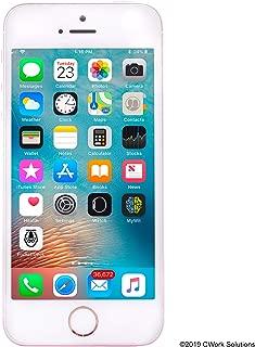 Apple iPhone SE 16GB GSM Unlocked Phone - Rose Gold (Renewed)