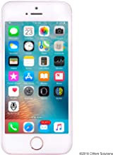 Apple iPhone SE 16GB GSM Unlocked Phone - Rose Gold (Renewed)