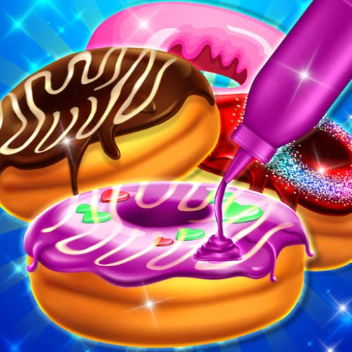 My Sweet Donut Maker Bakery Shop-The Best FREE Food Maker Games for Kids, Girls, and Boys