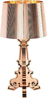 Kartell 9072/RR Bourgie, Lampe de Table, avec Variateur de Lumière, Mètallisè, E14, 84 W, Cuivre, Dimmerabile