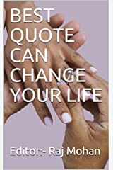 BEST QUOTE CAN CHANGE YOUR LIFE Kindle Edition