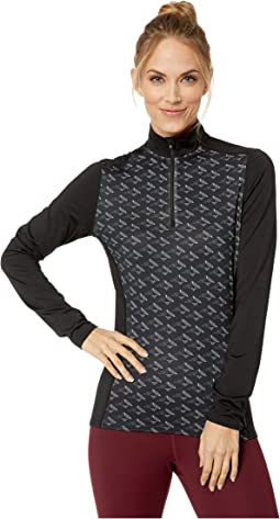 Micro-Elite Chamois Sublimated Print Zip-T