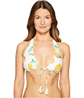 Kate Spade New York - Capistrano Beach #57 Halter String Bikini Top w/ Removable Soft Cups
