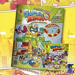 Superzings Rivals of Kaboom Serie 3 Revista Oficial Pack Exclusivo Superzings