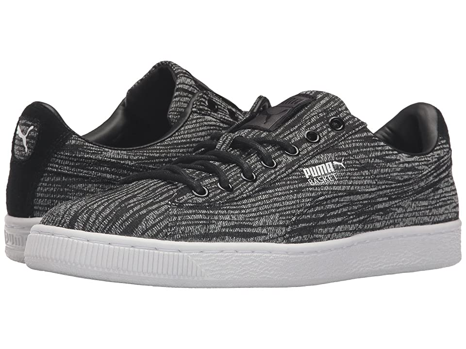 PUMA Basket Classic Tiger Mesh (Asphalt/Puma Black) Men