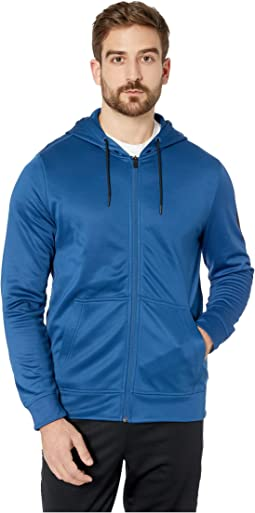 Workout Ready Poly Fleece Full Zip Hoodie