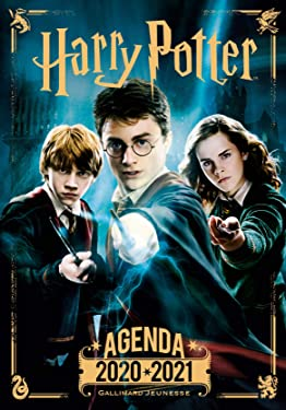 Agenda Harry Potter 2020-2021 (agendas harry potter, 211749) (French Edition)
