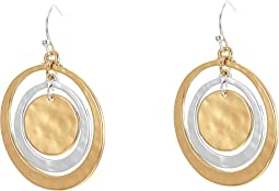 Robert Lee Morris - Orbital Circle Drop Earrings