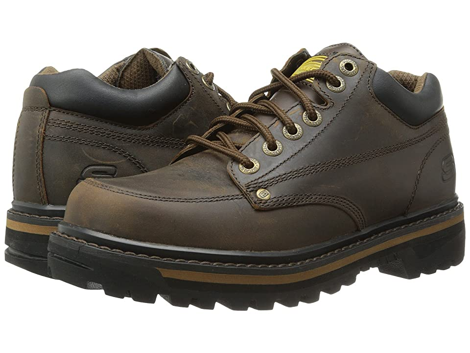 SKECHERS Mariner (Dark Brown Crazyhorse Leather) Men