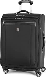 Platinum Magna 2 Expandable Spinner Suiter Suitcase, 25-in., Black