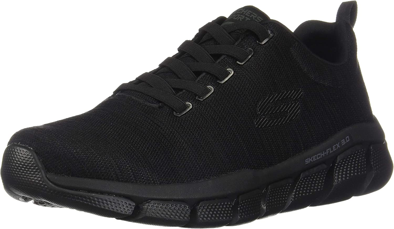 Skechers Relaxed Fit Flex 3.0 Strongkeep Pour des hommes Slip on paniers noir 9 XW