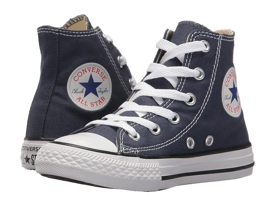 Converse Kids Chuck Taylor(r) All Star(r) Core Hi (Little Kid) (Navy) Kids Shoes