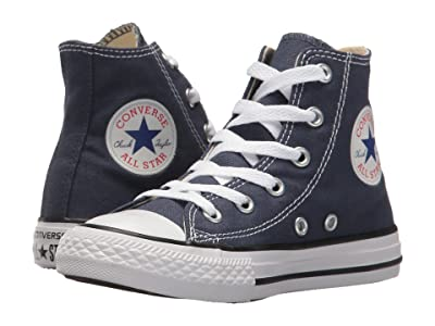 Converse Kids Chuck Taylor(r) All Star(r) Core Hi (Little Kid) (Navy) Kids Shoes