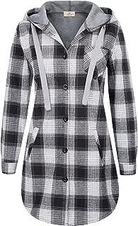 Best oversized flannel hoodie Reviews