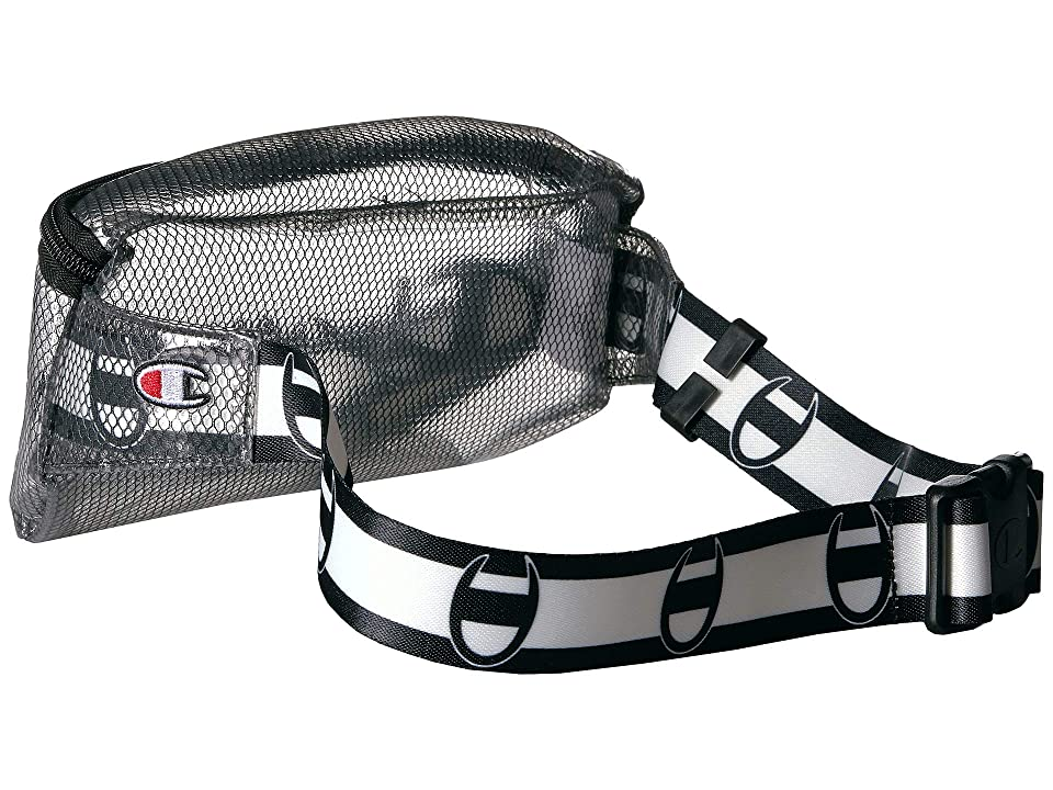 Champion Prime Transparent Sling Waist Pack One Size Black CH1156