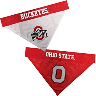 Pets First Ohio State Reversible Bandana for Dogs