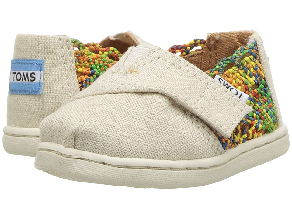 TOMS Kids Alpargata (Infant/Toddler/Little Kid) (Multi Crochet/Hemp) Girl